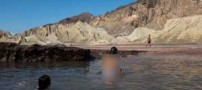 تصاویری نایاب از شنای مختلط زنان و مردان در ایران
