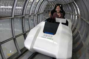 اختراع قطاری با سرعت 2900 کیلومتر در ساعت