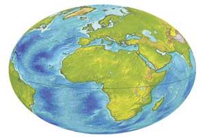 آموزش تعیین موقعیت با داشتن طول و عرض جغرافیایی