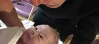 همسر باردار فوتبالیست معروف جفت جنین را پس از زایمان خورد (عکس)