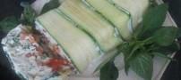 آموزش درست کردن ترین پنیر و سبزیجات