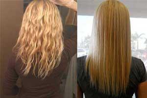آموزش صاف کردن موی فر به صورت طبیعی