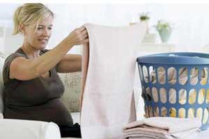 ترفندهایی راجع به خانه تکانی در بارداری