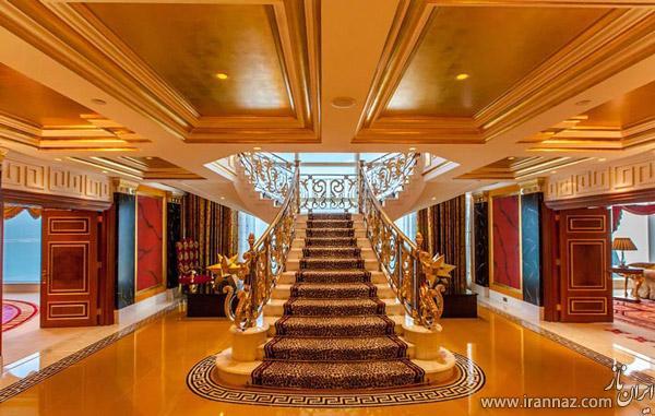 عکس های دیدنی از داخل هتل برج العرب دبی