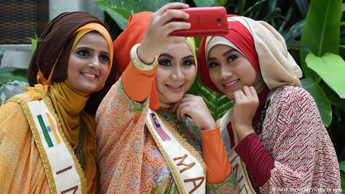 عکس های دیدنی از مسابقه زیباترین دختر مسلمان