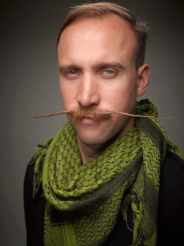 عکس های خنده دار از مسابقه ریش و سیبیل