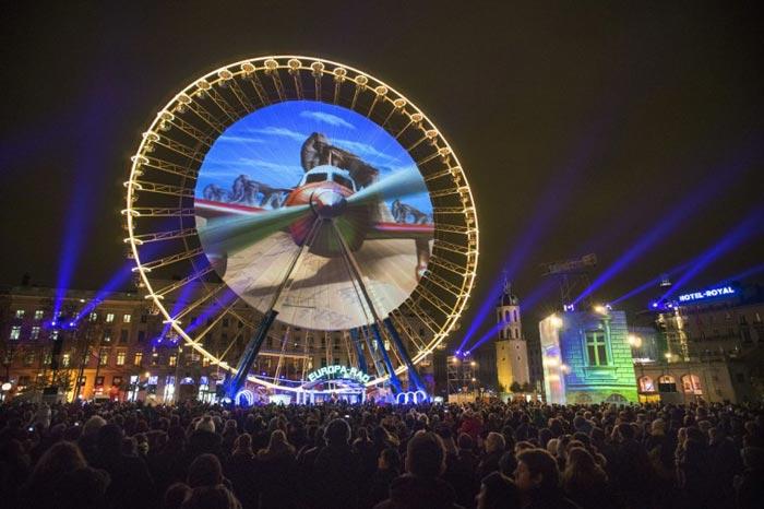 عکس های زیبا و دیدنی از جشنواره نور در لیون فرانسه