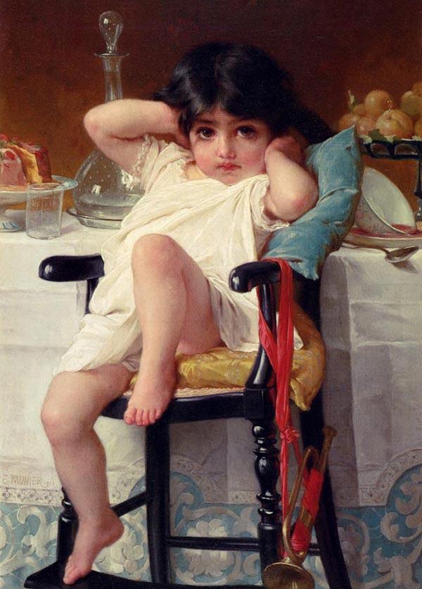 نقاشی های بسیار زیبای رنگ و روغن اثر امیل مونیر