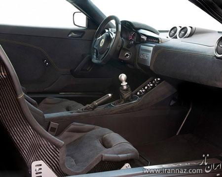 تصاویری از رونمایی اتومبیل لوکس و اسپرت انگلیسی