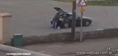 جنجال گدای میلیونری که آئودی سوار می شود (عکس)