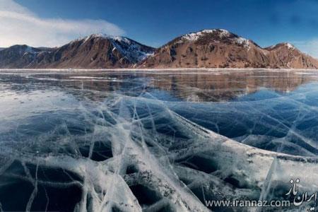 دریاچه های عجیب و مرموز در جهان (عکس)