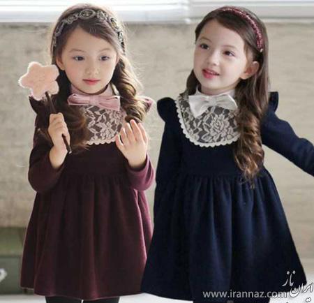 شیک ترین مدلهای لباس بچگانه برای عید 95