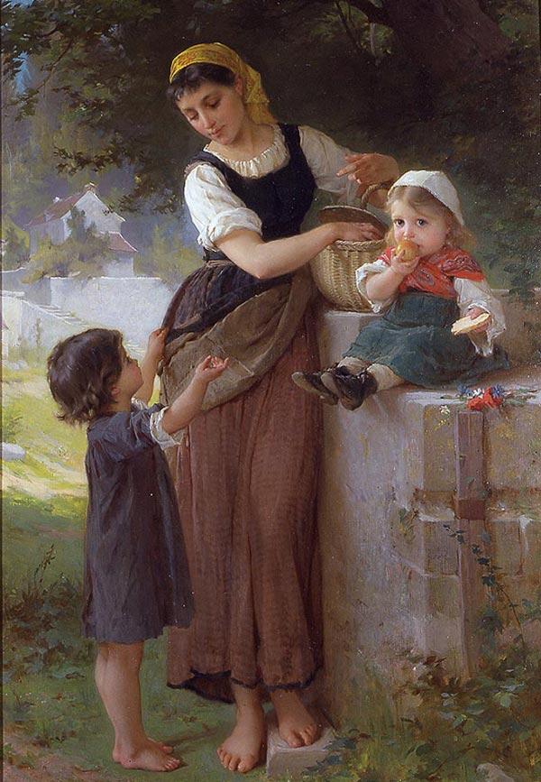 نقاشی رنگ روغن چهره کلاسیک