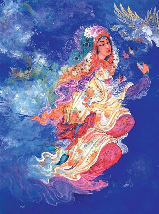 تصاویر زیبا و هنرمندانه از نقاشی مینیاتور ایرانی