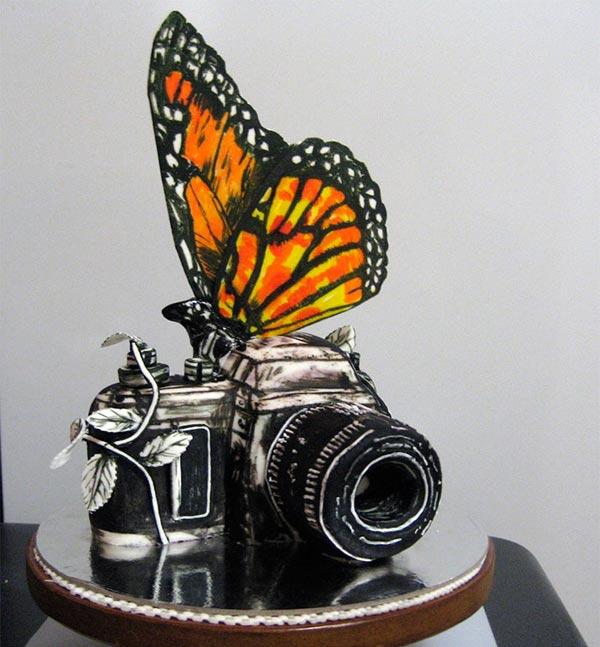 عکس های جالب از مسابقه خلاقانه ترین کیک ها