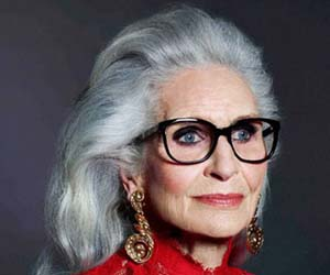 گفت و گویی با پیرترین مدلینگ جهان (عکس)