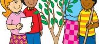 شعرهای جالب کودکانه درباره درختکاری