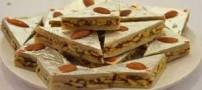 آموزش تهیه دسر بادام و پسته برای عید