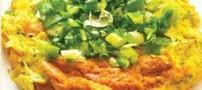 طرز پخت کوکوی پیازچه غذایی کرمانشاهی