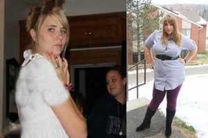 دختران خوش اندامی که یکباره چاق و زشت شدند (عکس)