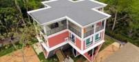 خانه ای جالب با طراحی وارونه در تایلند (عکس)