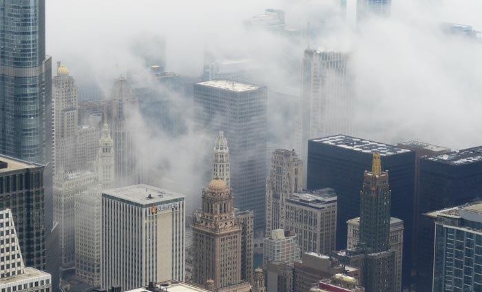 عکس های مناظری زیبا در پس پردهای از جنس مه