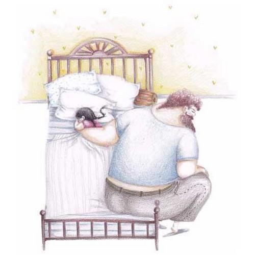 تصاویر عاشقانه از احساسات پدر و دختر