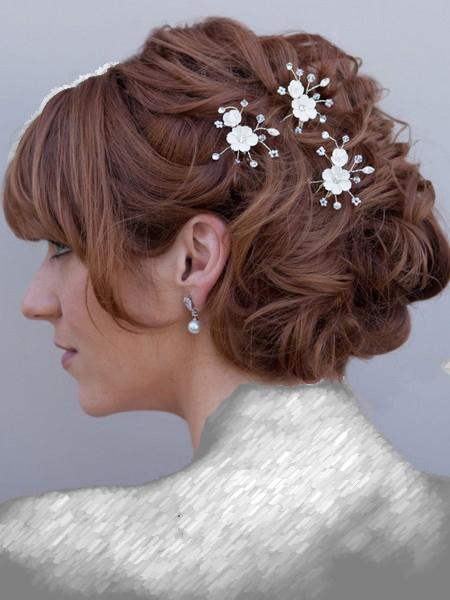 مدل مو عروس به سبک بسته
