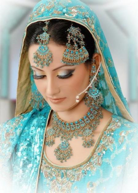 عکس هایی از مدل آرایش به سبک هندی