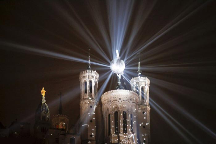 عکس های زیبا از جشنواره نور در لیون فرانسه