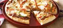 پیتزا سبز با ماهی را اینگونه درست کنید!!