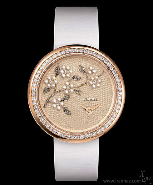 کلکسیونی شیک از ساعت های شنل برای خانم ها