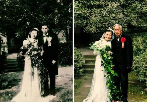 بازسازی تصاویر ازدواج این زوج عاشق (عکس)