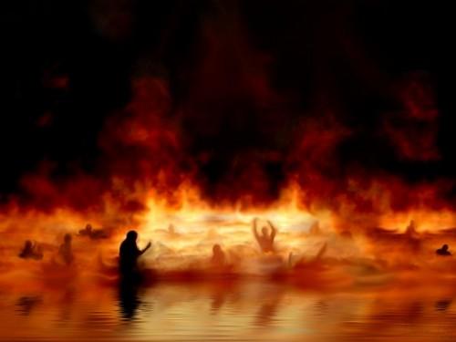 کدام قسمت از جهنم شلوغ تر می باشد؟!