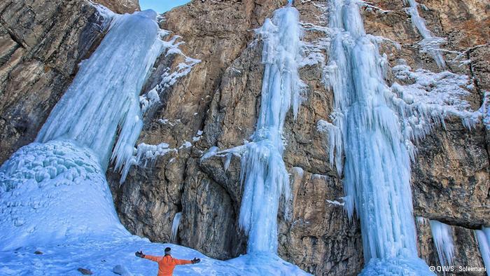 عصر یخی، نتیجه عکاسی بلند مدت از ایران