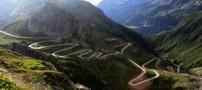 عکس های دیدنی از بیست جاده زیبا در دنیا
