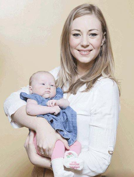 این خانم از بارداری خود هیچ اطلاعی نداشته!!