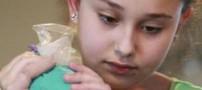 شهرت این دختر 11 ساله بخاطر تزیین کیک هایش