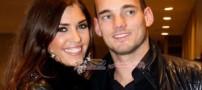 ازدواج فوتبالیست مشهور با جذابترین دختر هلند!