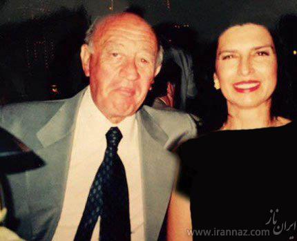 این دختر عاشق پیرمرد 60ساله و پولدار شده (عکس)