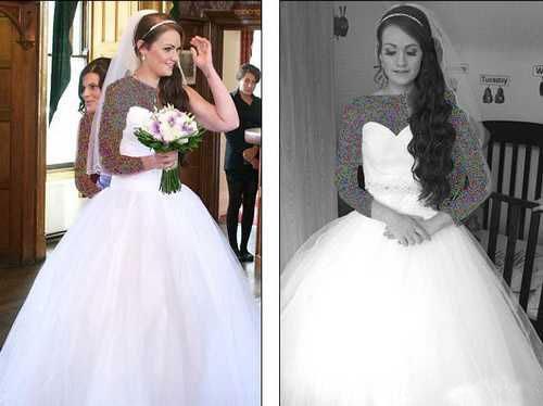 این عروس خانم چاق 32 کیلو وزن کم کرد (عکس)