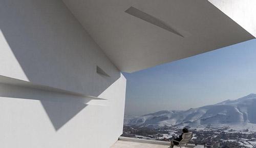 خانه ای بسیار زیبا و منحصر به فرد در تهران (عکس)