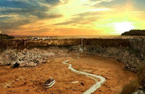 دوران خشکسالی احتمالی سراسر کره زمین (عکس)