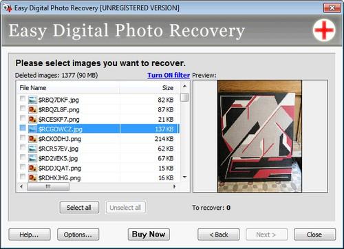 راهی برای بازیابی عکس های پاک شده