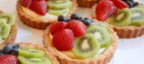تارت میوه ای را چگونه تهیه کنیم؟