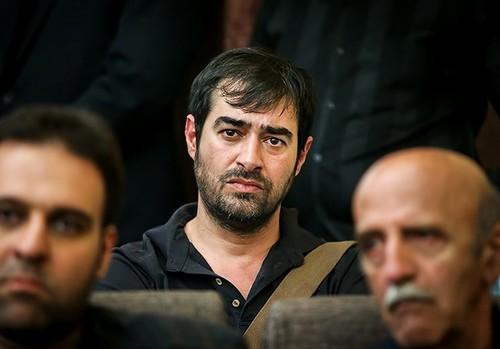 شهاب حسینی در مراسم ختم همسر شهید بابائی (عکس)