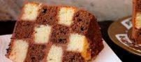 روش تهیه کردن کیک شطرنجی