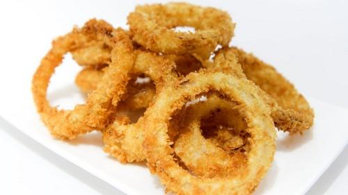 طرز تهیه پیاز حلقه ای سوخاری
