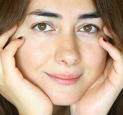 چهره ی بدون آرایش هانیه توسلی (عکس)  چهره ی بدون آرایش هانیه توسلی (عکس) 73 2