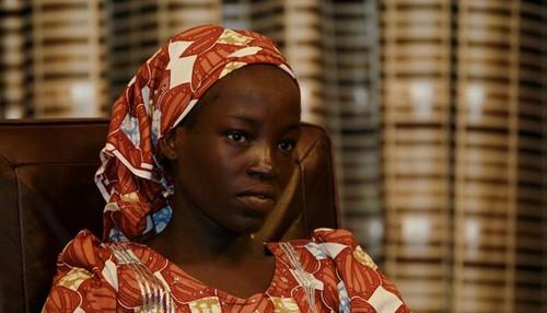 فرار کردن این دختر از دست بوکوحرام (عکس)